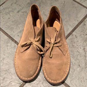 J Crew desert boots
